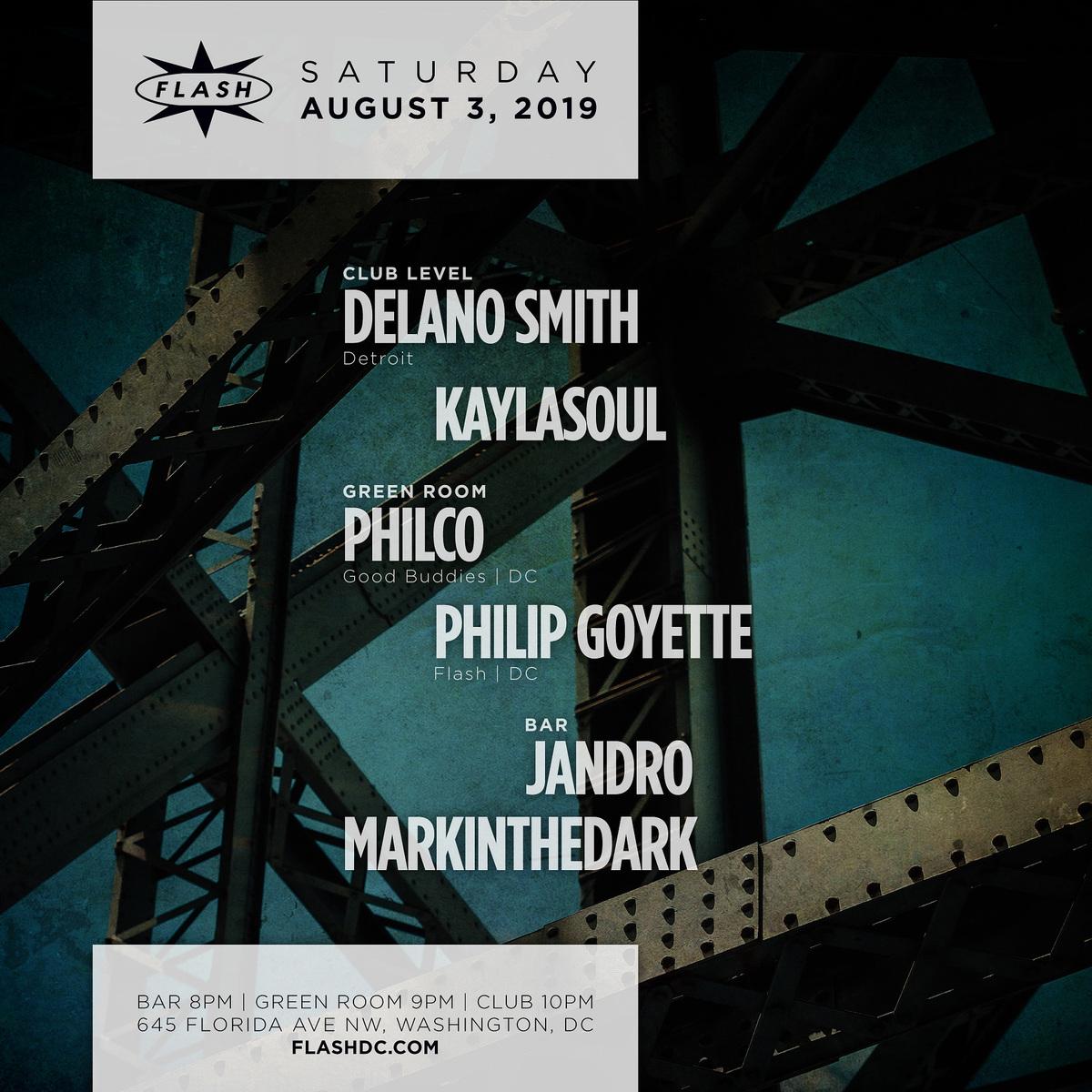 Delano Smith - KayLaSoul - Philco - Philip Goyette - Jandro - markinthedark event thumbnail