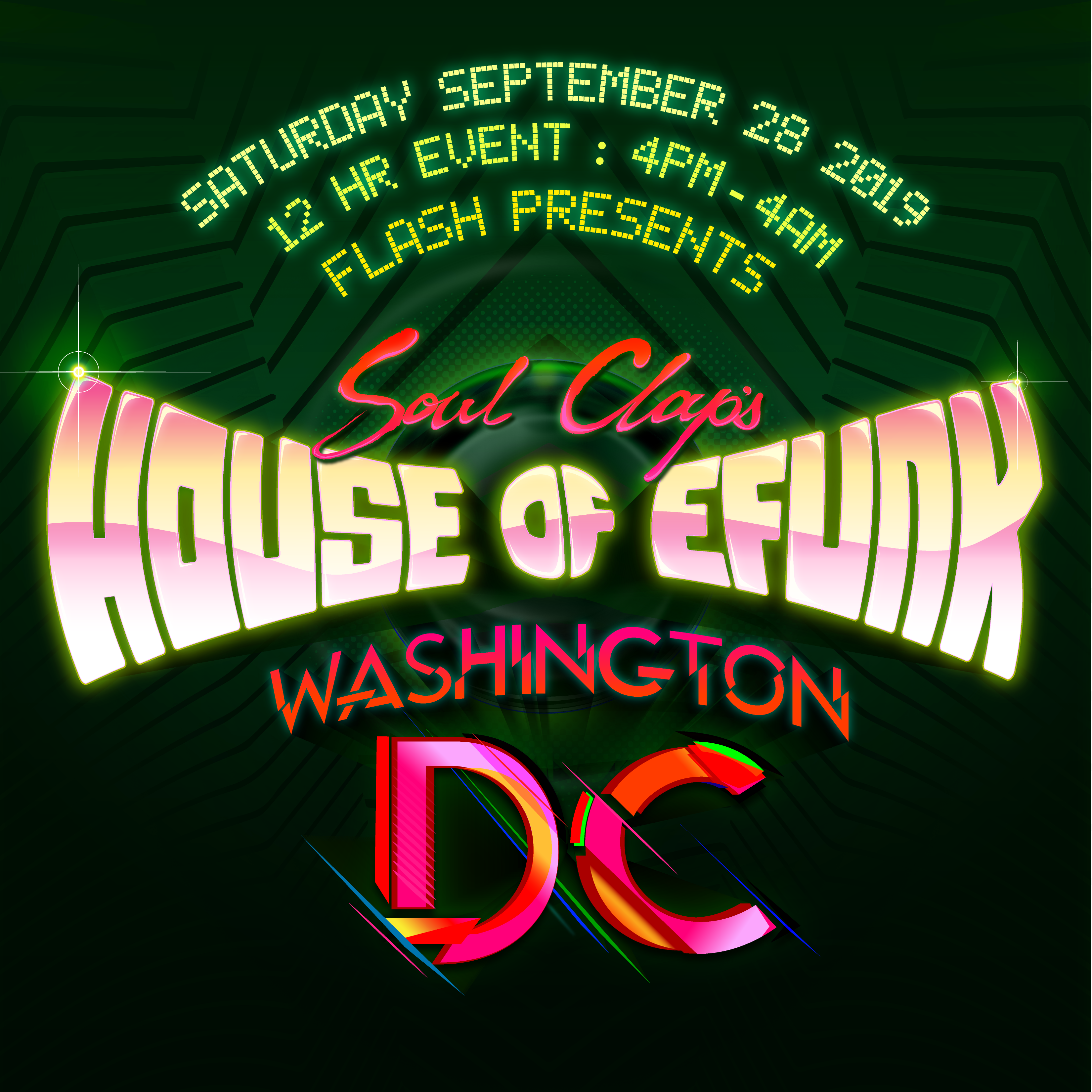 Soul Clap's House of Efunk DC high quality event photo