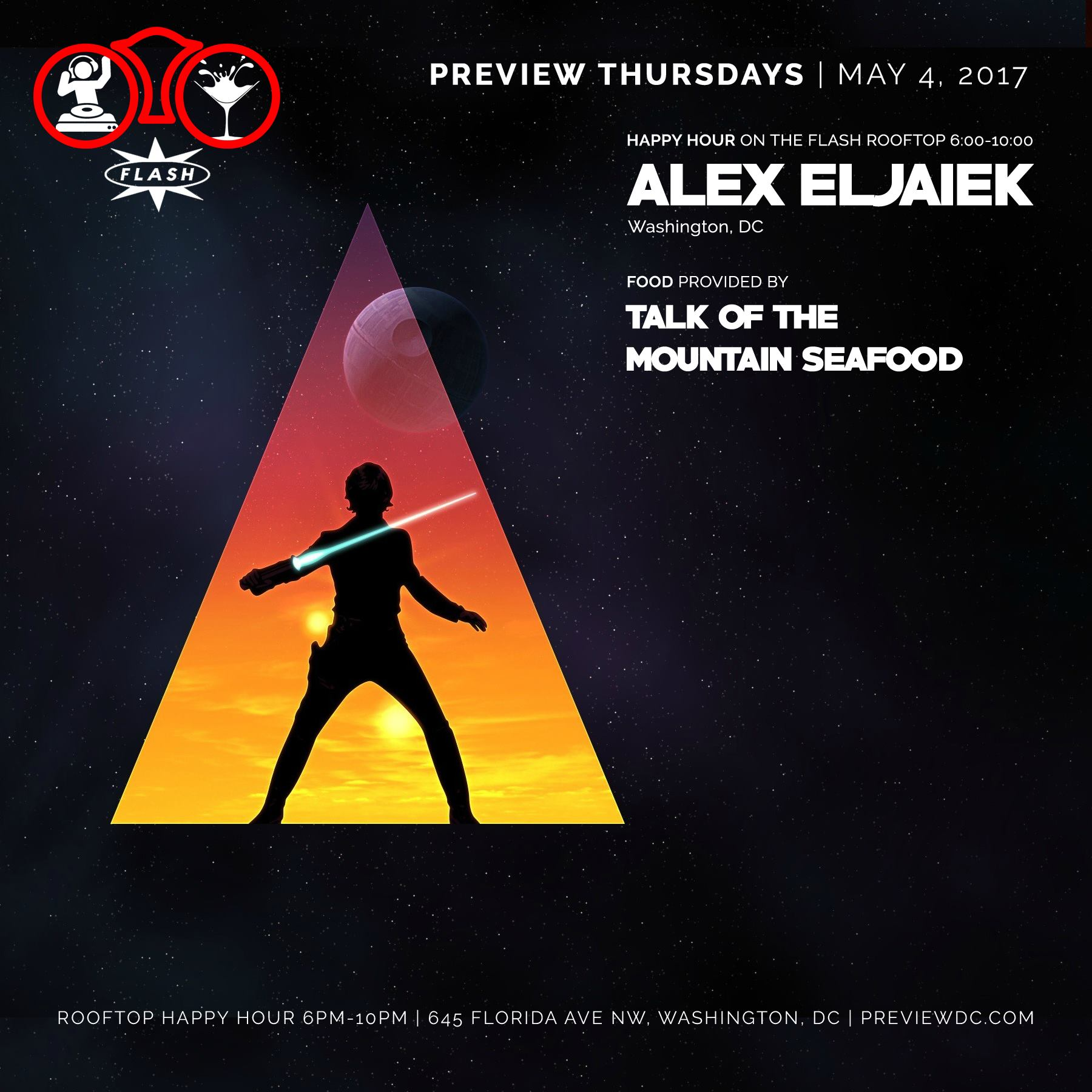 Preview feat. Alex Eljaiek event thumbnail