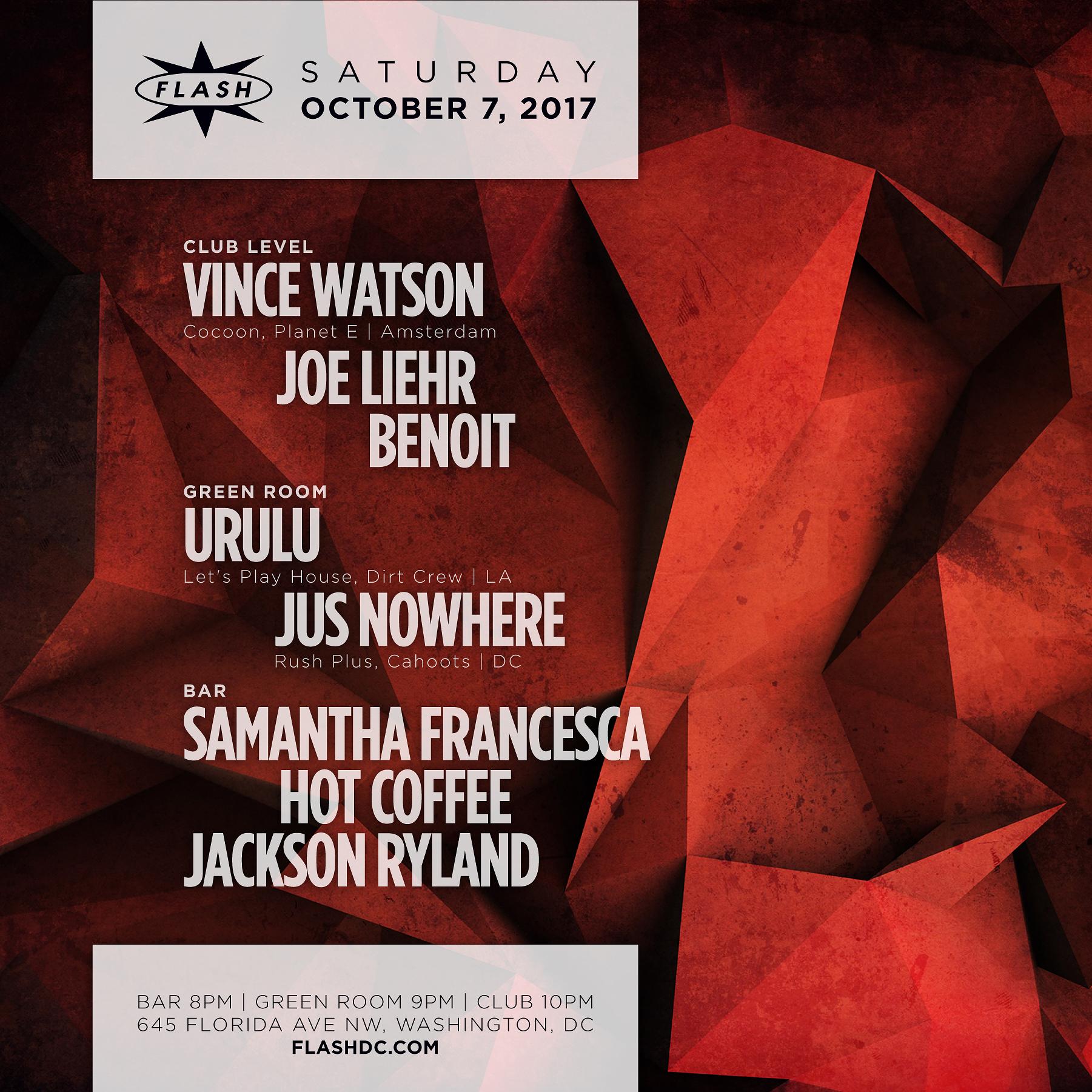 Vince Watson - Urulu event thumbnail