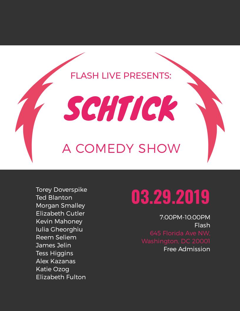 Schtick event thumbnail