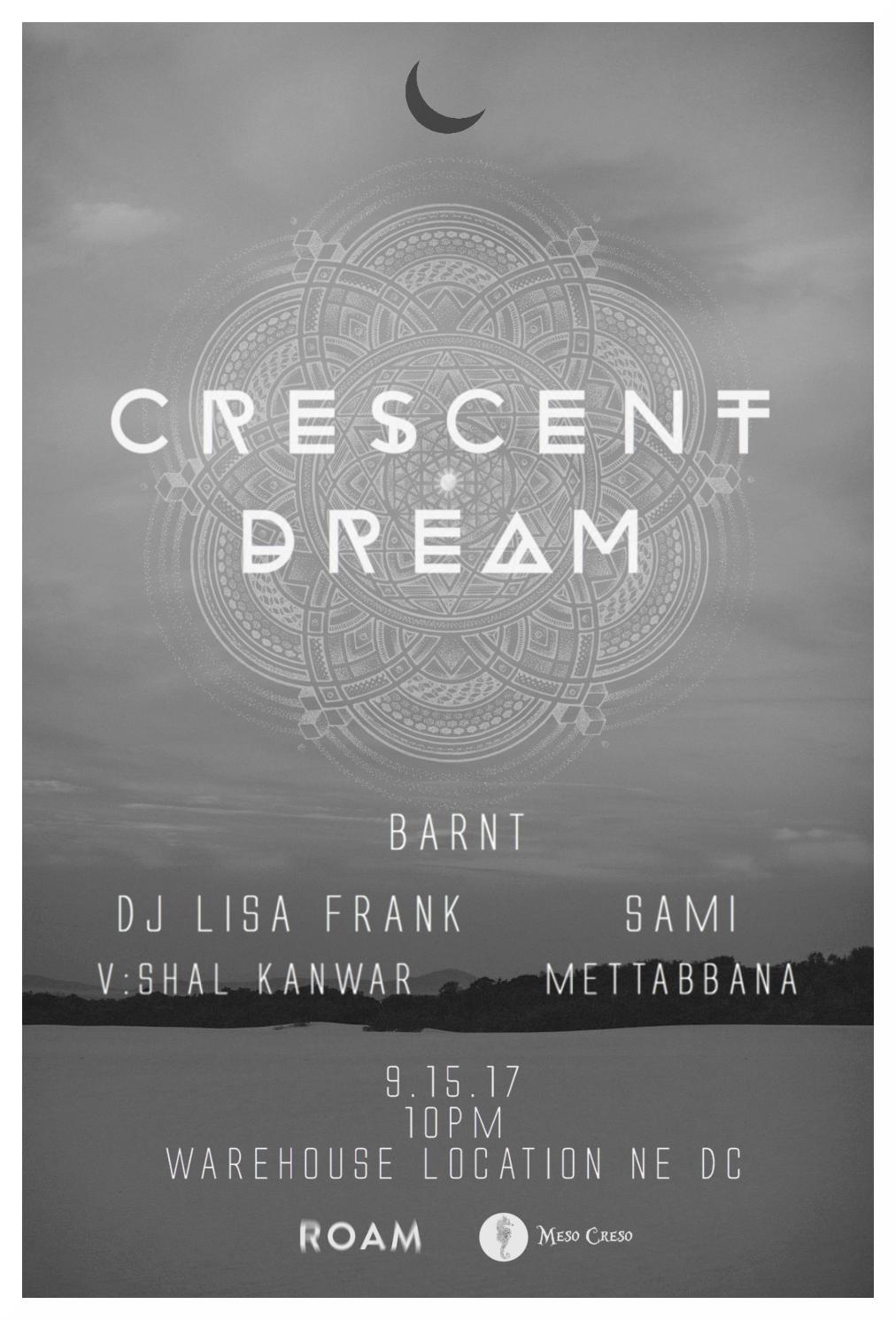 Crescent Dream: Barnt event thumbnail