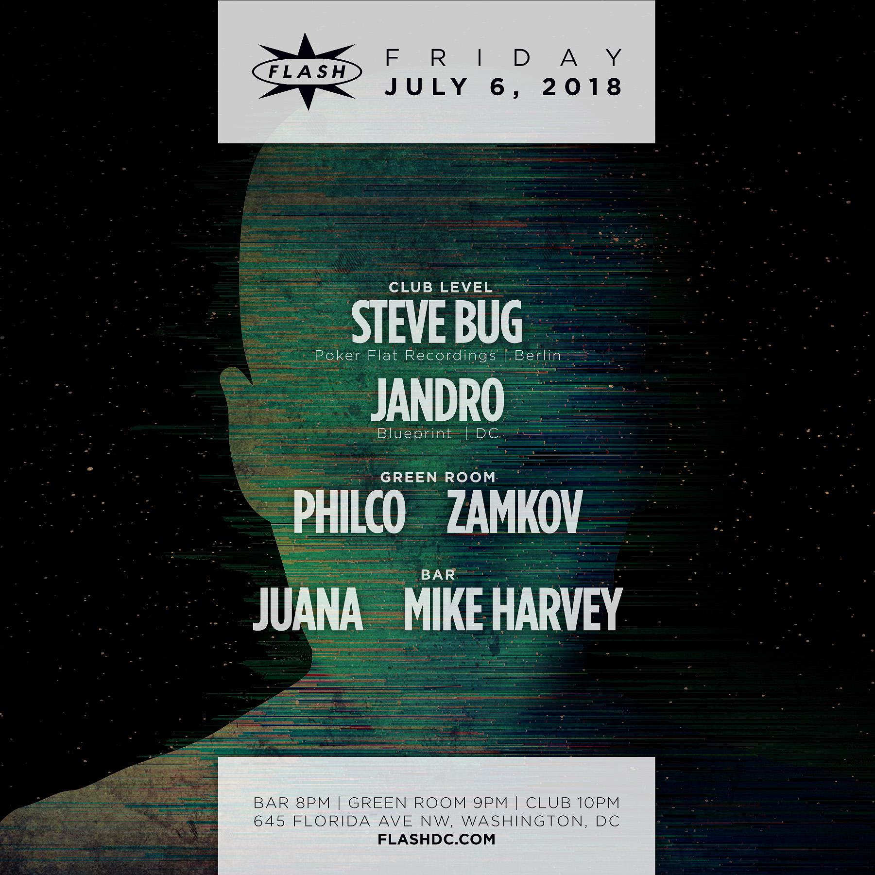Steve Bug event thumbnail