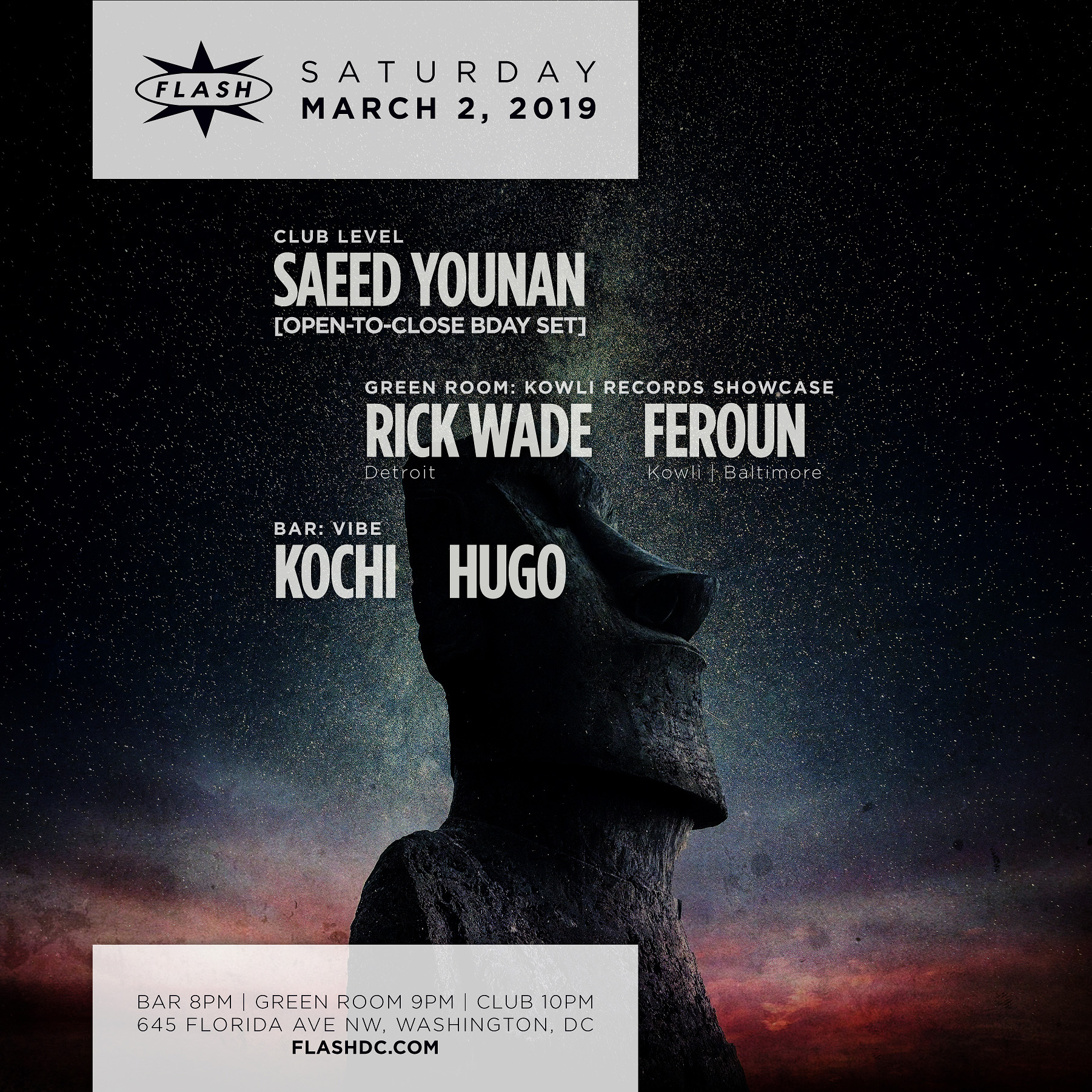 Saeed Younan [Open-to-Close Birthday Set] event thumbnail