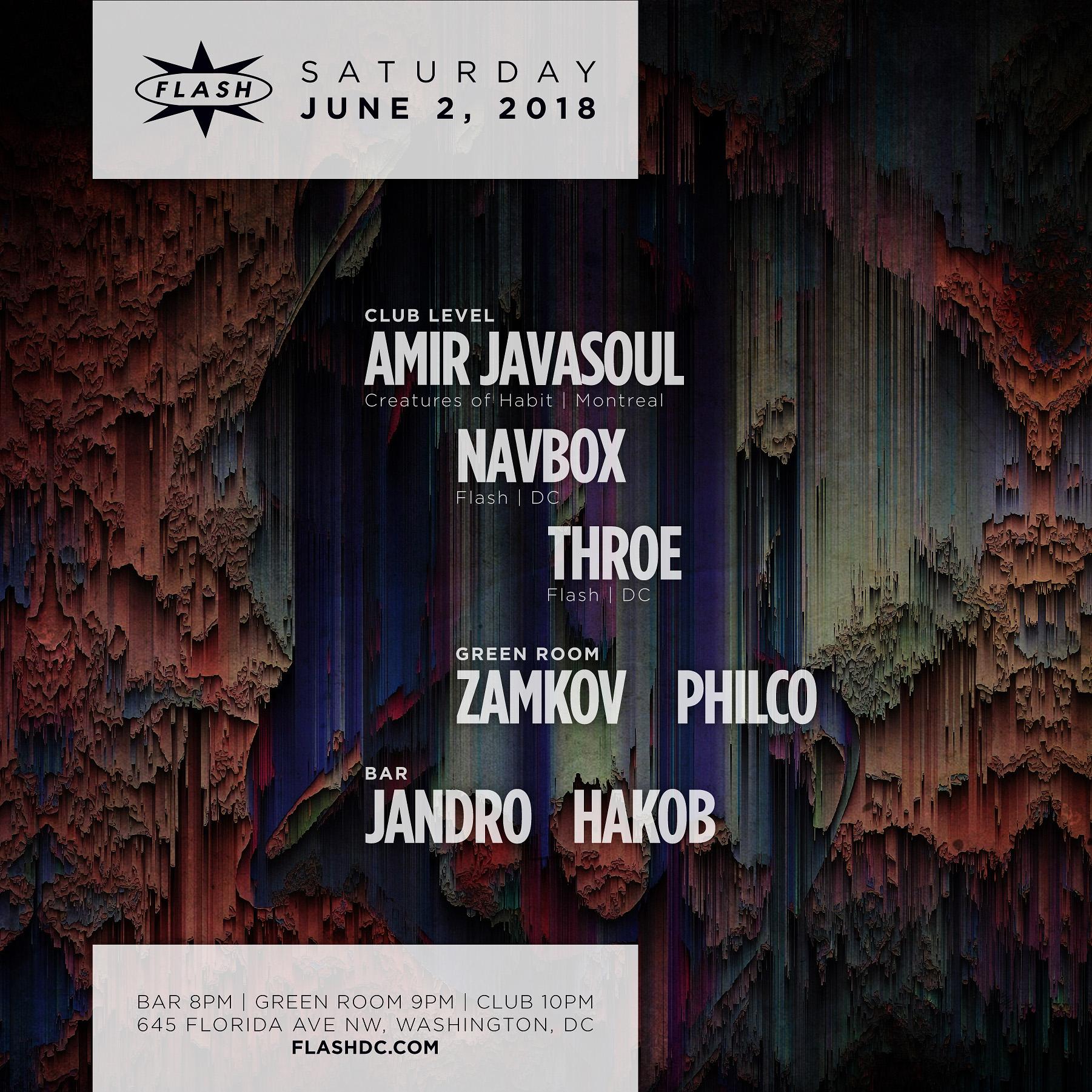 Amir Javasoul event thumbnail