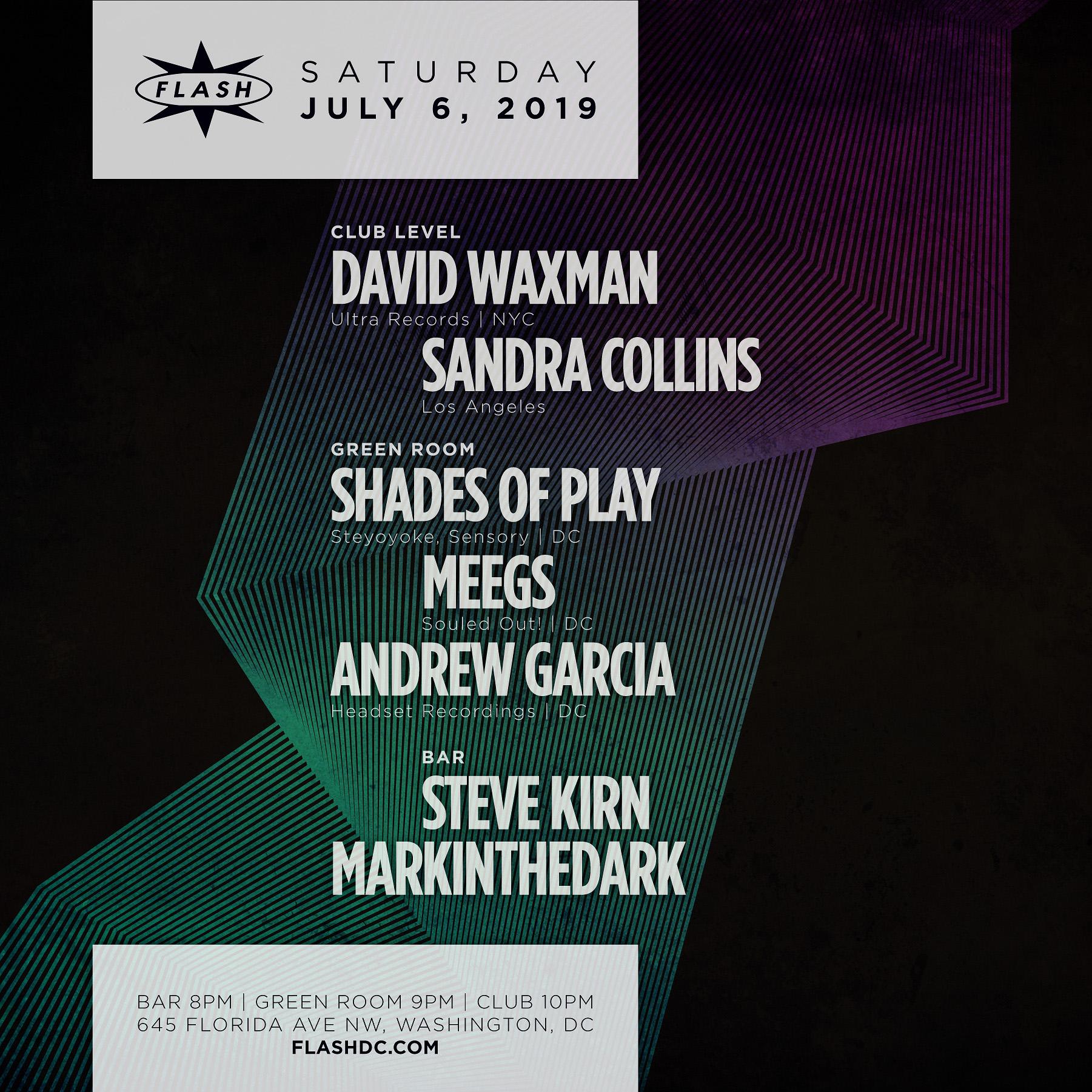 David Waxman - Sandra Collins - Steve Kirn - markintheDark event thumbnail