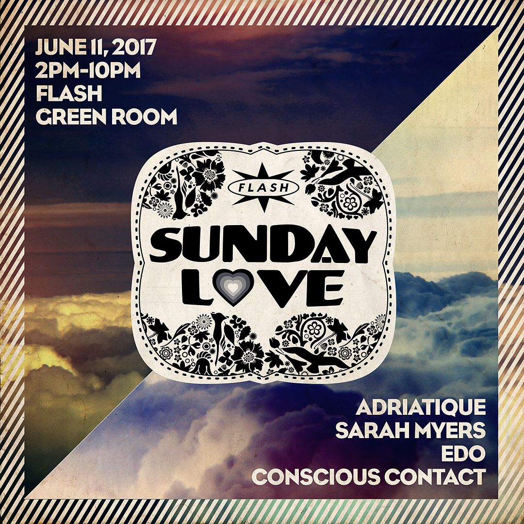 Sunday Love: Adriatique (Diynamic Music) / Sarah Myers / Edo / Conscious Contact event thumbnail