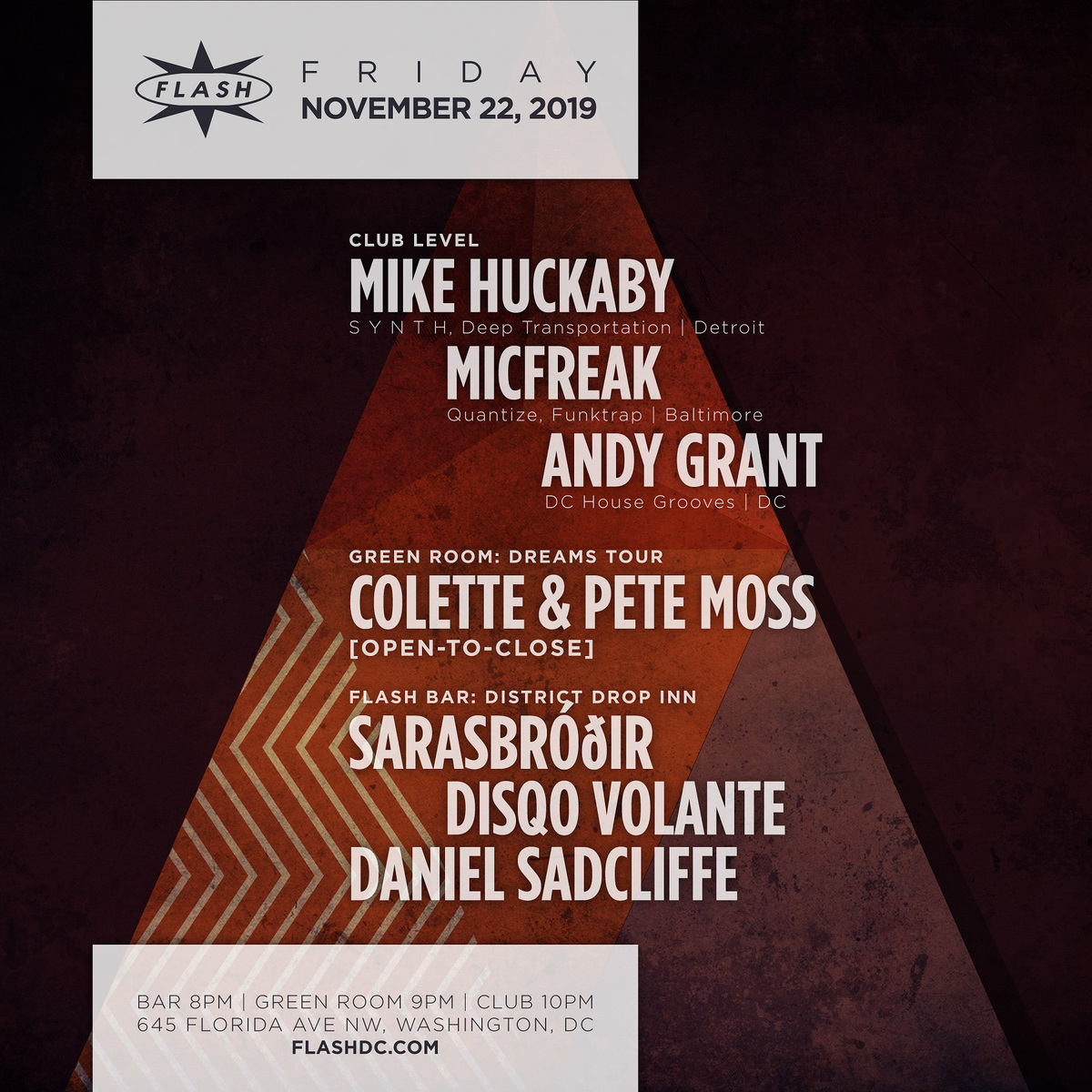 Mike Huckaby - Pete Moss - Colette event thumbnail