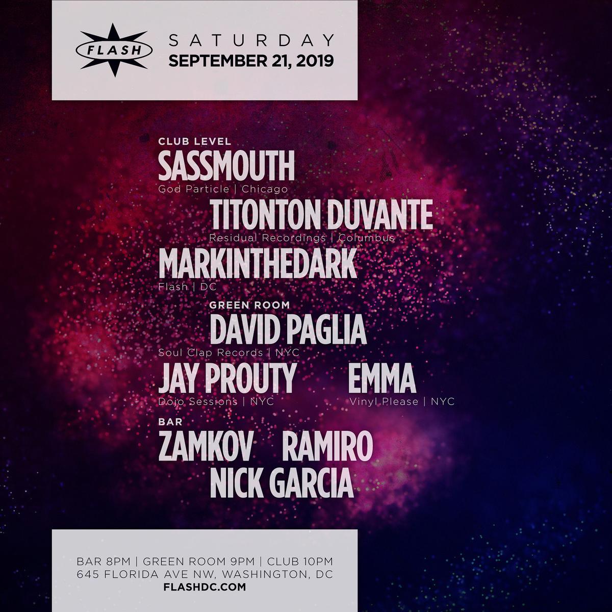 Sassmouth - Titonton Duvante event thumbnail