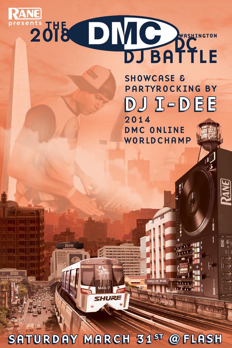 [Early] 2018 DMC DC DJ Battle feat. DJ I-Dee event thumbnail