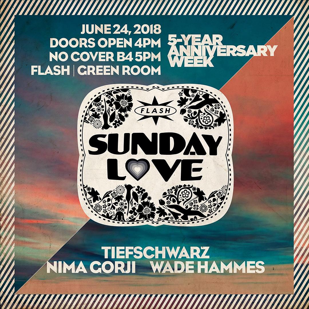 5 Yrs. of Flash x Sunday Love: Tiefschwarz - Andrew Grant event thumbnail