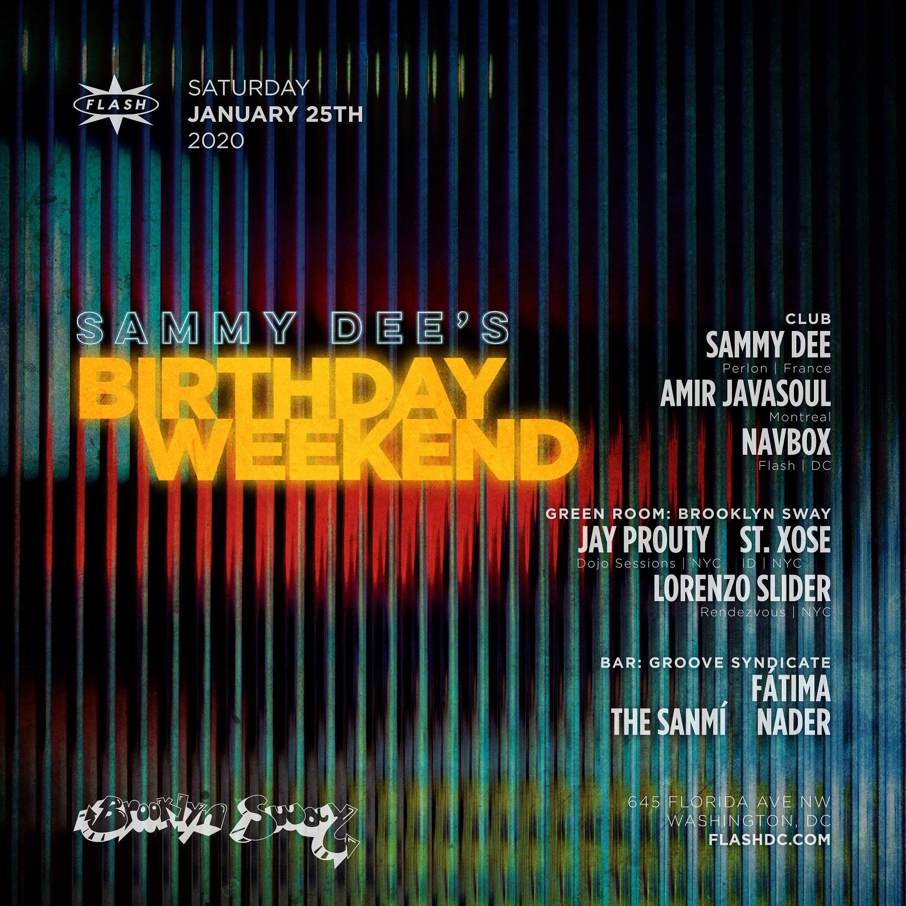 Sammy Dee - Amir Javasoul - Navbox event thumbnail