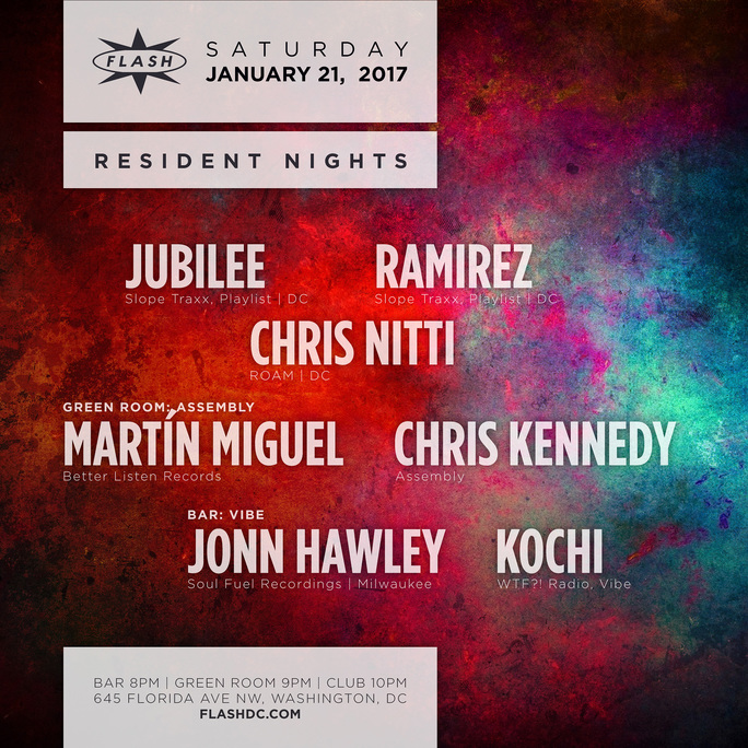 Resident Nights w/ Chris Nitti, Jubilee, Ramirez & more event thumbnail