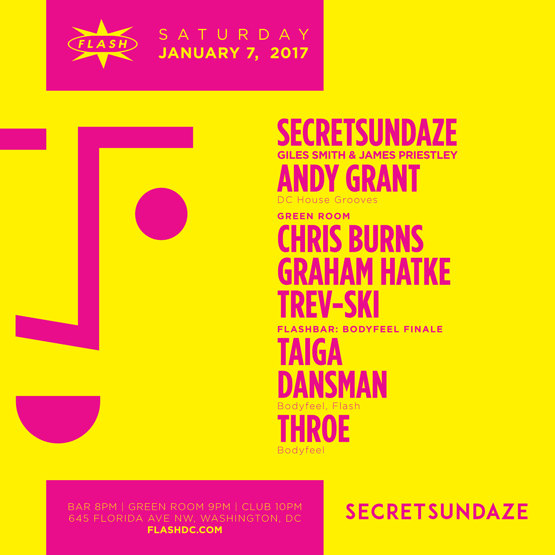 secretsundaze: Giles Smith & James Priestley event thumbnail