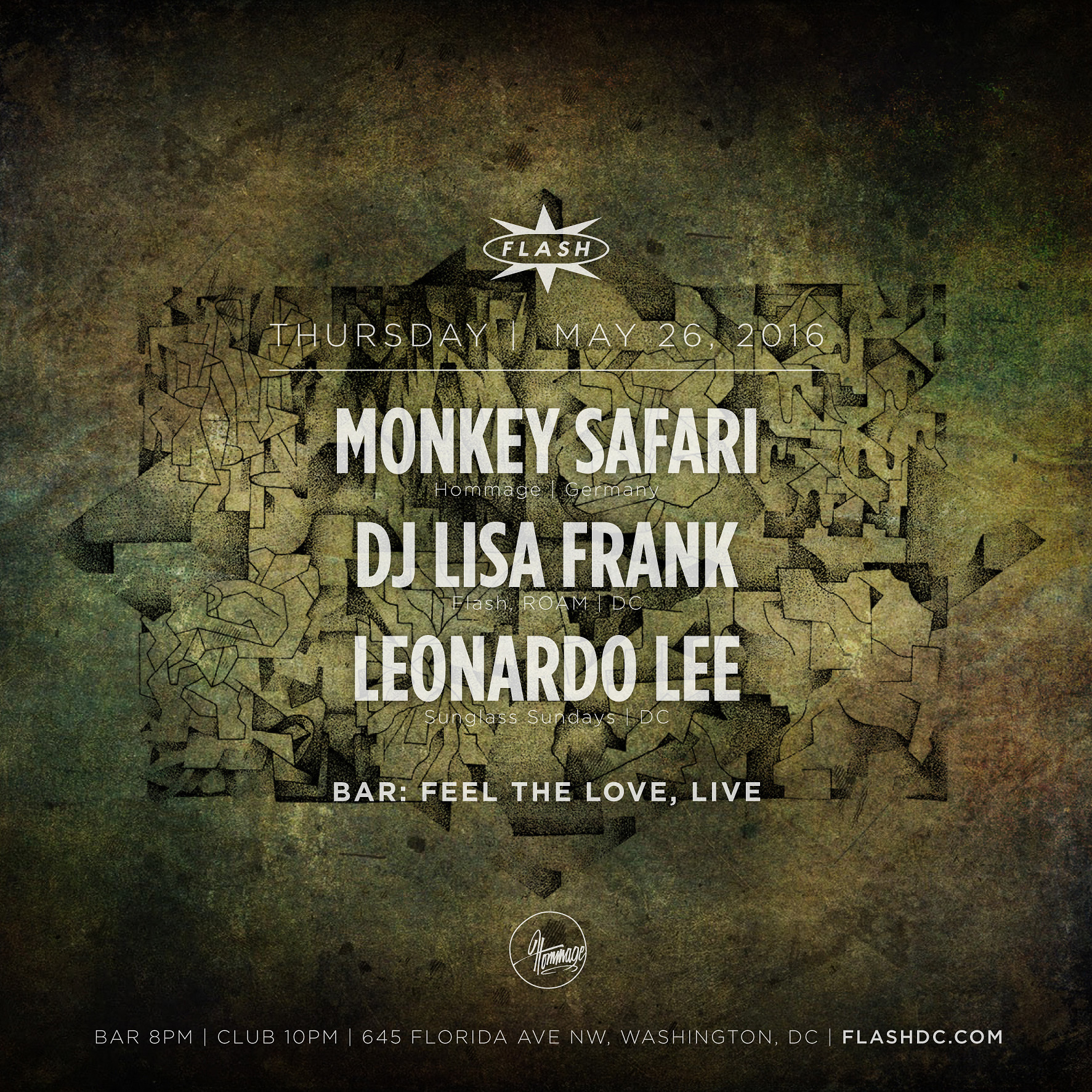 Monkey Safari at Flash on Thursday, May 26, 2016